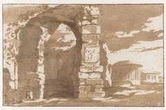 Deel van de thermen van Diocletianus en S. Bernardo alle Terme