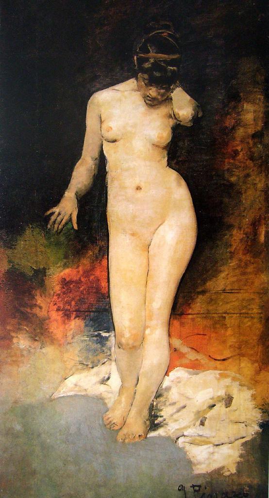 Desnudo de frente