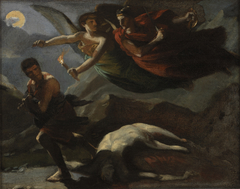 Divine Vengeance and Justice Pursuing Crime