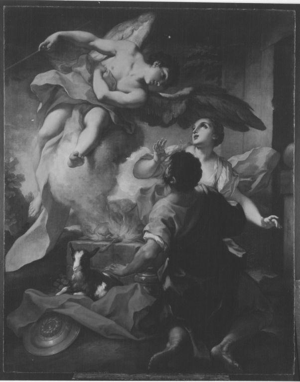 Ein Engel verheisst der Frau des Manoah einen Sohn