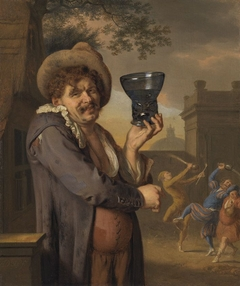 Ein Trinker