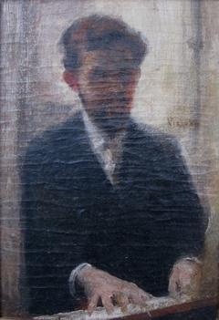"""Estudo para o """"Retrato do Maestro Alberto Nepomuceno"""""""