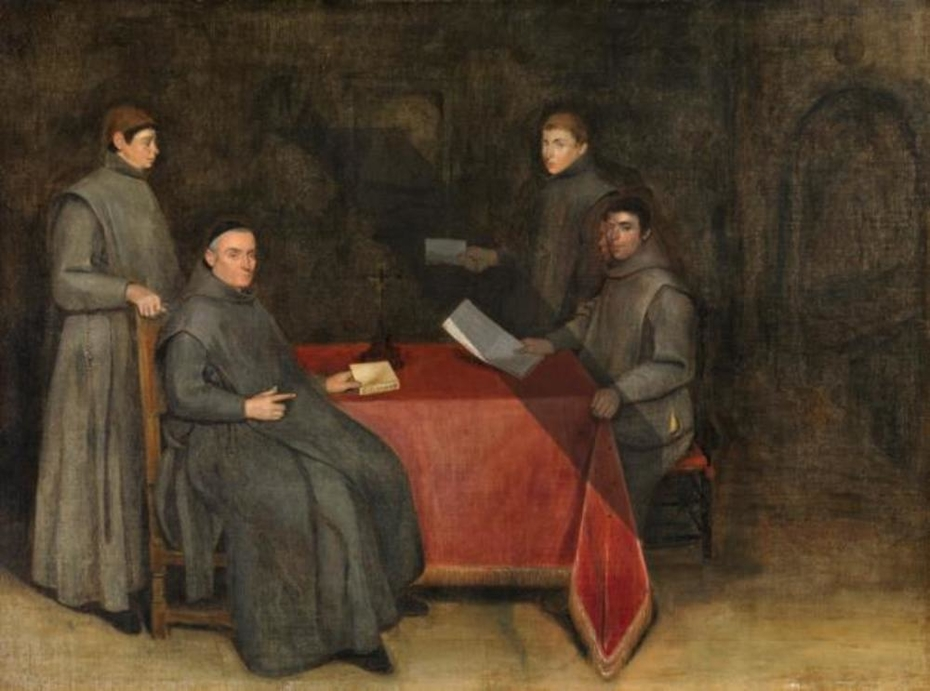 Four Franciscan Monks