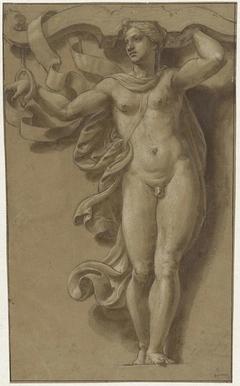 Hermaphrodite as Caryatid