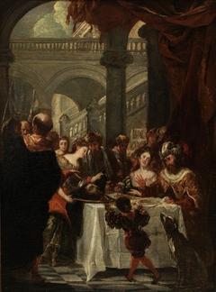 Herod's Feast (sketch)