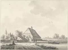 Het dorp Drumpt in Gelderland