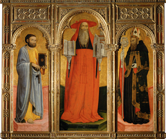 Hieronymusaltar von Santo Stefano in Venedig: Der heilige Markus