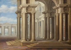 Hoher Säulenbau