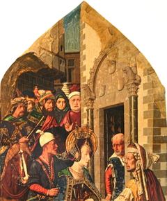 Imprisonment of Sainte Engratia