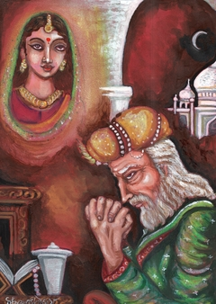 IN THE OLD AGE OF SHAHJAHAN
