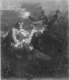 In the year 1672. Johan de Witt is wounded by Van der Graeff