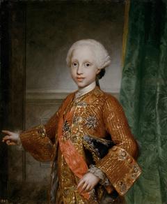 Infante Francisco Javier of Spain (1757-1771)
