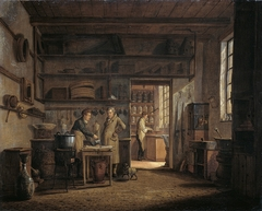 Interior of the Laboratory of the Apothecary Stoockhuys