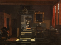 Interior with a Woman at the Virginal