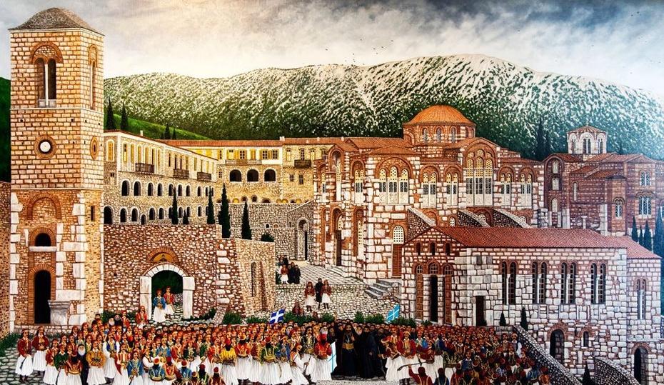 Ι. Μ. Οσίου Λουκά / Hosios Loukas Monastery