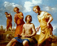 Jacob Peeling the Rods