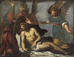 Lamentation with angels