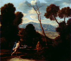 Landscape with a Man Frightened by a Snake