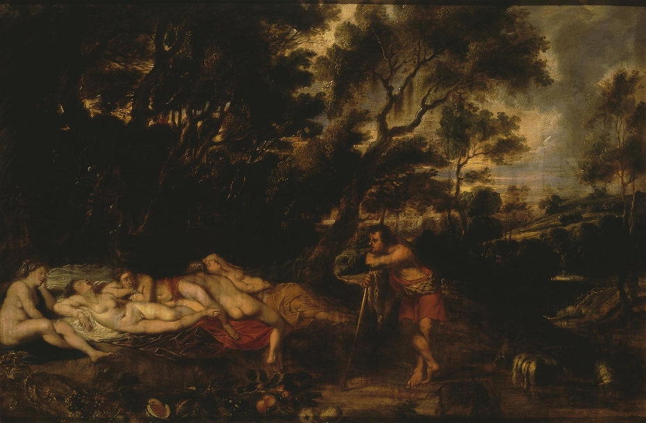 Landscape with Cymon and Iphigenia