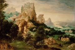 Landschaft mit dem Gleichnis vom Barmherzigen Samariter