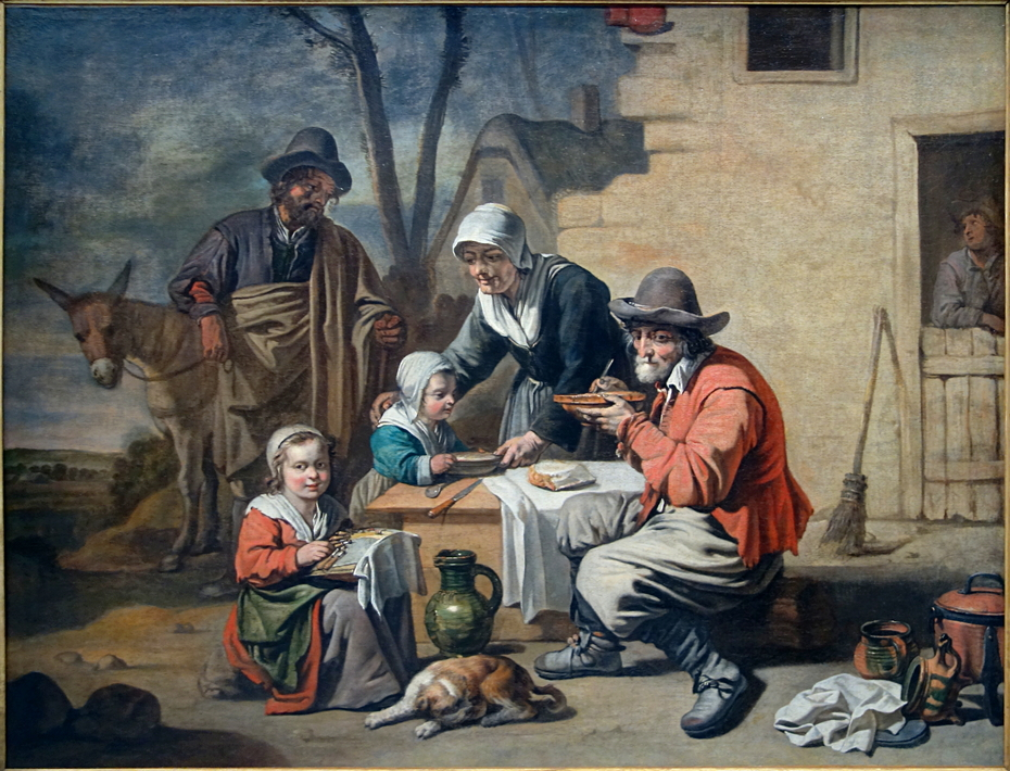 Le Repas villageois