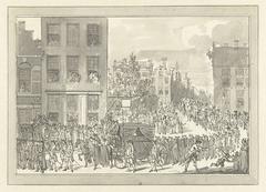 Lijkstatie van Wolter Jan Gerrit baron Bentinck te Amsterdam, 28 Augustus 1781