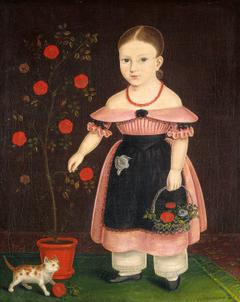 Little Girl in Lavender