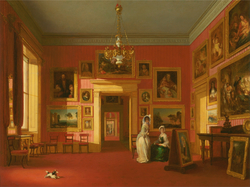Lord Northwick's Picture Gallery at Thirlestaine House