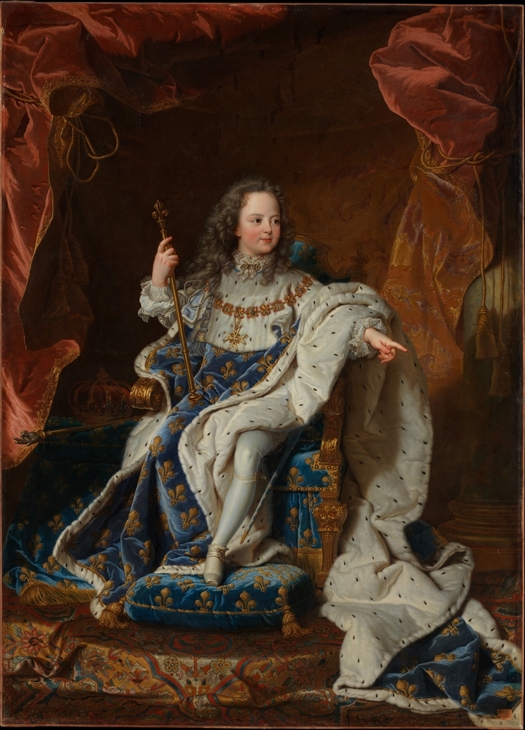 Louis XV (1710–1774) at the Age of Five in the Costume of the Sacre