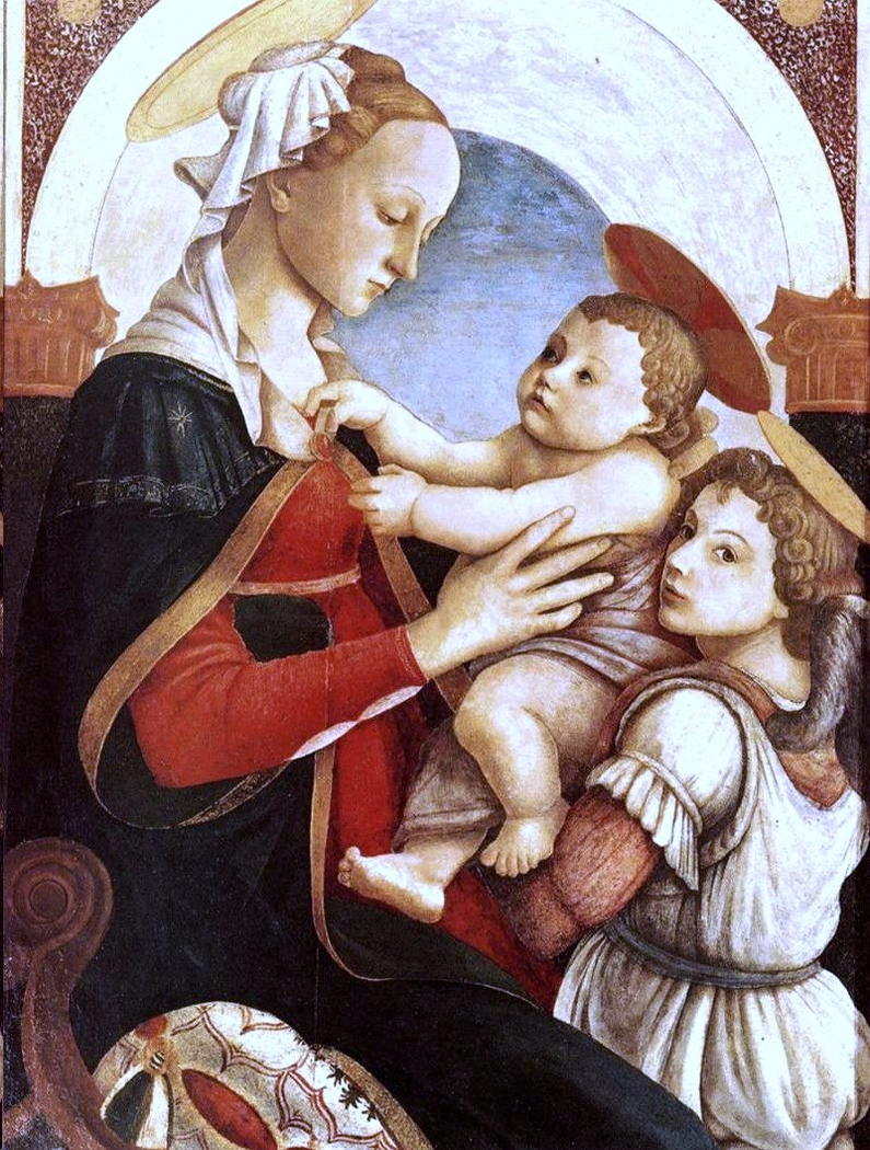 Madonna and Child with an Angel