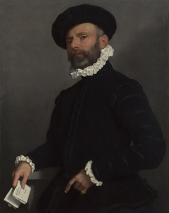 Man holding a Letter
