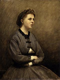 Mme de Larochenoire, Wife of the Painter (Mme de Larochenoire, femme du peintre)