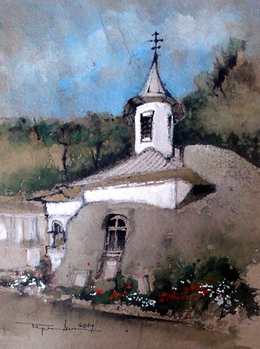 Monastery Church Namaiesti