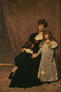 Mother and Children (Madame Feydeau and Her Children)