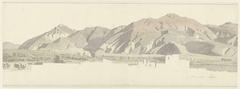 Mount Vesuvius, with Torre Annunziata (?)