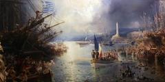 Napoleon III in Genoa
