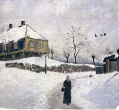 Øvre Foss in Winter