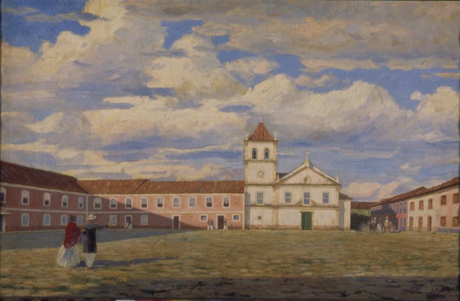 Pateo do Colégio, 1858