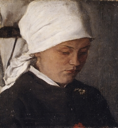 Peasant Girl with a White Headcloth