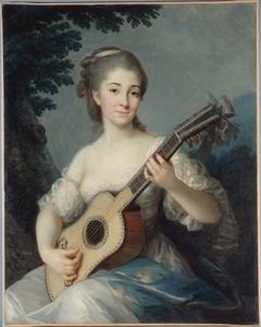 Portrait de Marie-Louise-Adélaïde-Jacquette de Robien, vicomtesse de Mirabeau