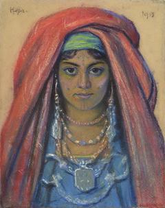 Portrait of a Bedouin Woman
