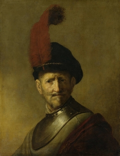 Portrait of a Man, perhaps Rembrandt's Father, Harmen Gerritsz van Rijn