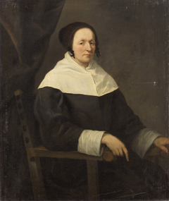 Portrait of a Seated Old Woman