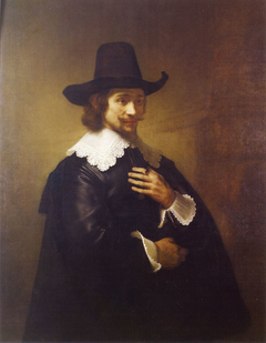 Portrait of a Young Man in a Broad-brimmed Hat