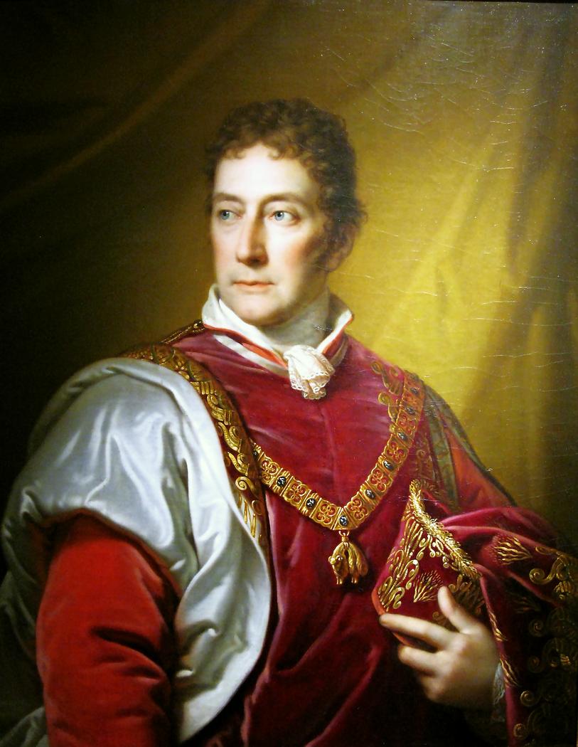 Portrait of Antoni Józef Lanckoroński.