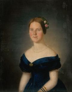 Portrait of Augusta Tibély, née Grossmann