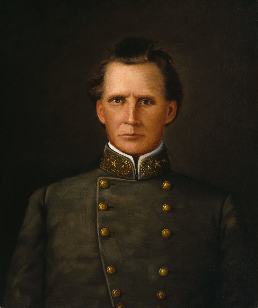 Portrait of Brigadier General Joseph Lewis Hogg