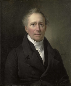 Portrait of Daniel Francis Schas, from 1814 to 1820 Member of the Board of Commerce for the Colonies