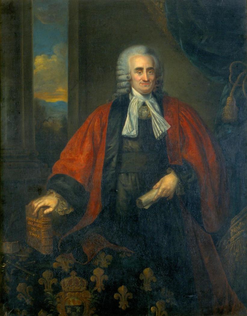 portrait of Étienne Benoist de la Grandière