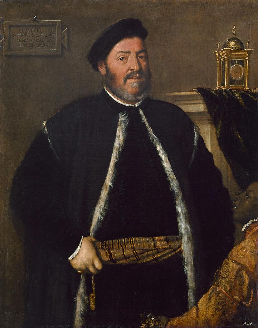 Portrait of Fabrizio Salvaresio
